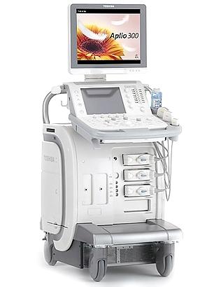 超音波機器TOSHIBAAplio300